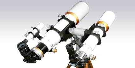 EZ Touch setup with 2 Telescopes by William Optics